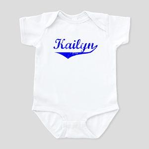 Kailyn Vintage (Blue) Infant Bodysuit
