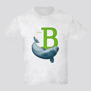 B Is For Beluga Kids Light T-Shirt