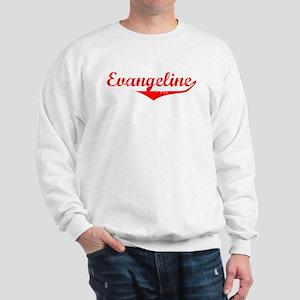 Evangeline Vintage (Red) Sweatshirt