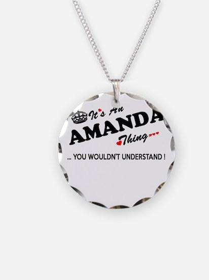 Cute Amanda Necklace