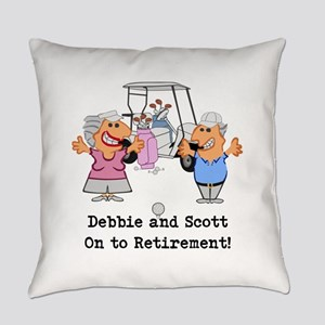 Personalized Funny Golf Couple Cartoon Everyday Pi