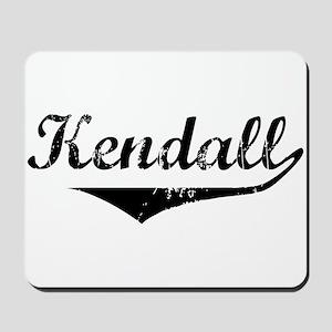 Kendall Vintage (Black) Mousepad