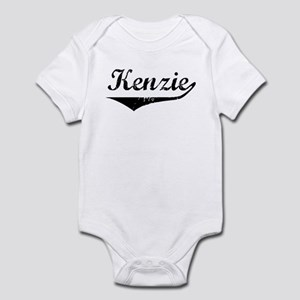 Kenzie Vintage (Black) Infant Bodysuit