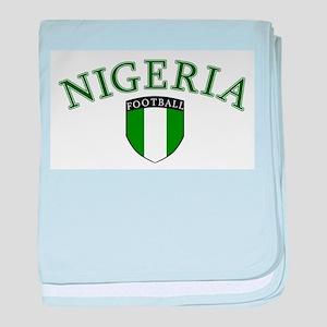 Nigerian Soccer baby blanket