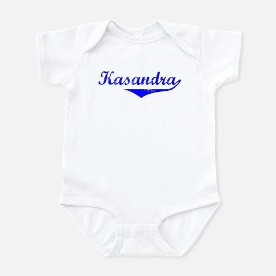 Kasandra Vintage (Blue) Infant Bodysuit
