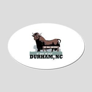 Durham NC Bull Wall Decal
