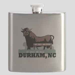 Durham NC Bull Flask