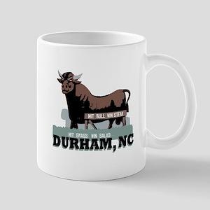 Durham NC Bull Mugs
