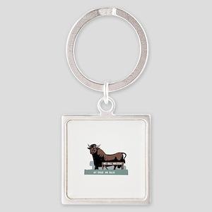 Durham NC Bull Keychains