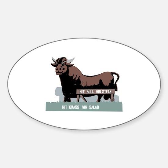 Durham NC Bull Decal
