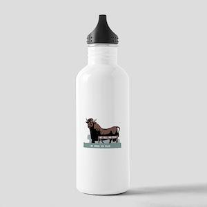 Durham NC Bull Water Bottle