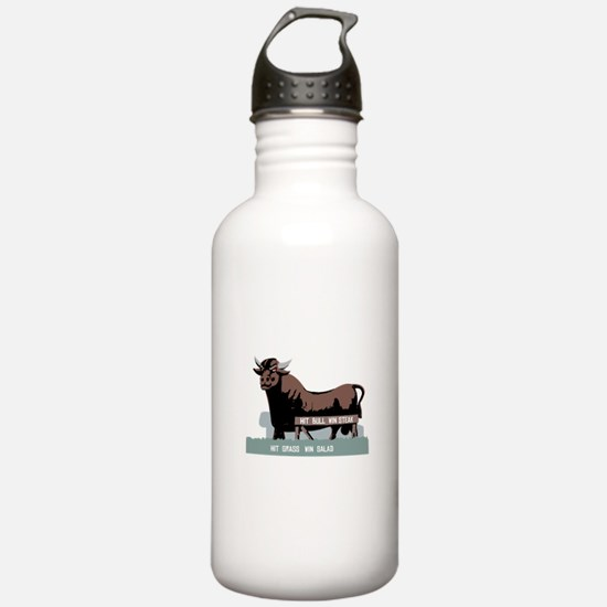 Durham NC Bull Water Bottle