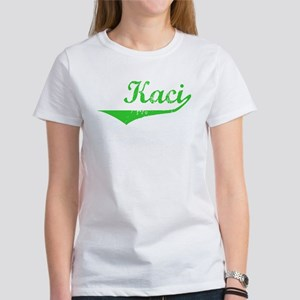 Kaci Vintage (Green) Women's T-Shirt