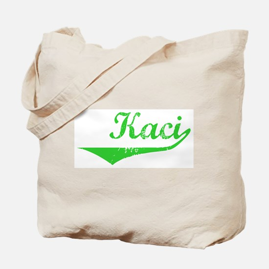 Kaci Vintage (Green) Tote Bag