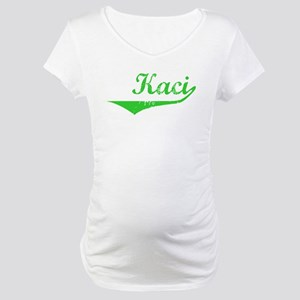 Kaci Vintage (Green) Maternity T-Shirt