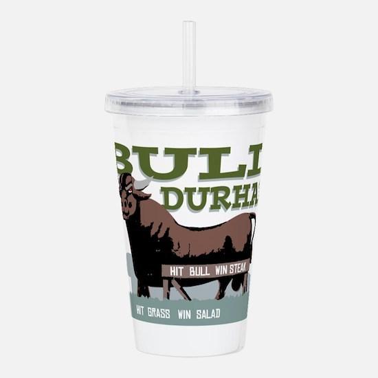 Bull Durham Acrylic Double-wall Tumbler