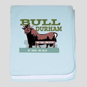 Bull Durham baby blanket