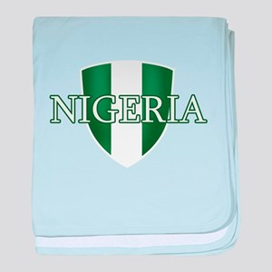 Nigerian football baby blanket