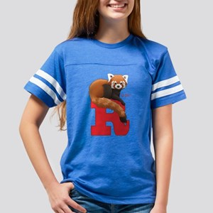 R Is For Red Panda Youth Football Shirt T-Shirt