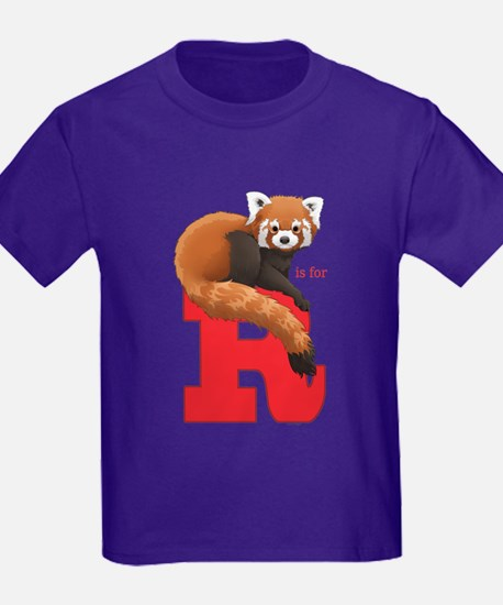 R Is For Red Panda T