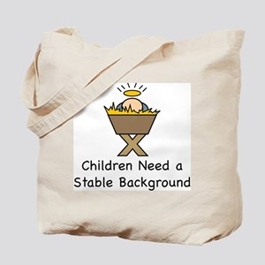 STABLE BACKGROUND Tote Bag