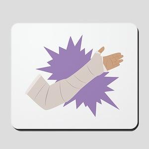 Arm Cast Mousepad