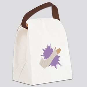 Arm Cast Canvas Lunch Bag