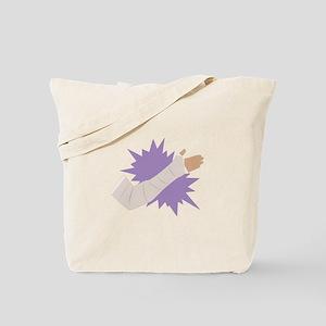 Arm Cast Tote Bag