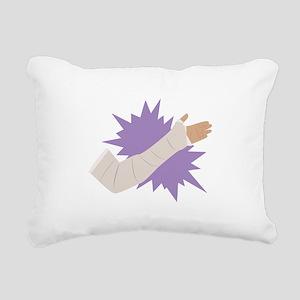 Arm Cast Rectangular Canvas Pillow
