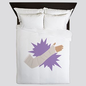 Arm Cast Queen Duvet