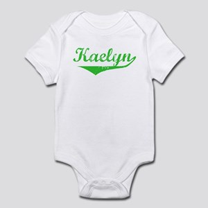 Kaelyn Vintage (Green) Infant Bodysuit