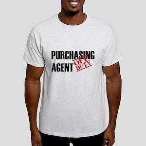 Off Duty Purchasing Agent Light T-Shirt