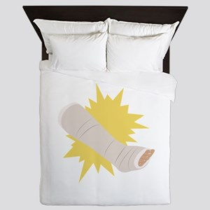 Leg Cast Queen Duvet