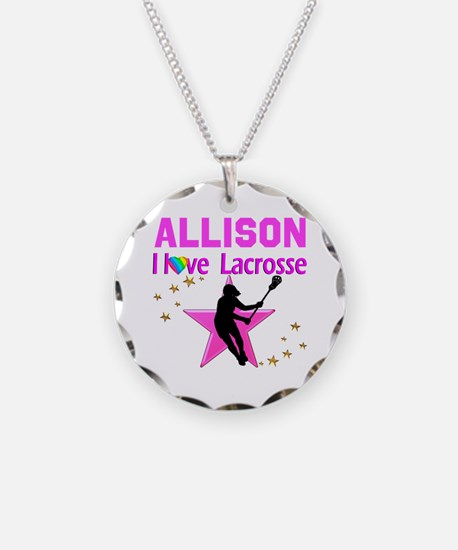 LACROSSE PLAYER Necklace