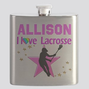 LACROSSE PLAYER Flask
