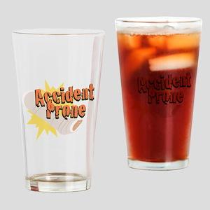 Accident Prone Leg Drinking Glass
