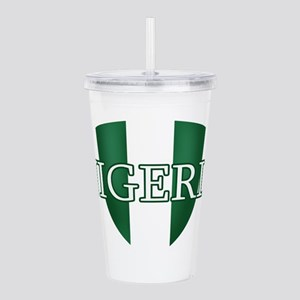 Nigerian football Acrylic Double-wall Tumbler