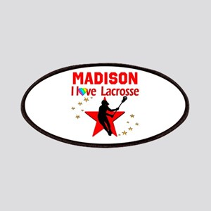 LACROSSE PLAYER Patch