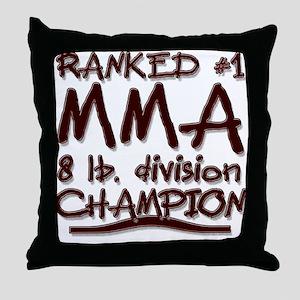 MMA 8 lb CHAMPION Throw Pillow