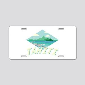 Tahiti Aluminum License Plate