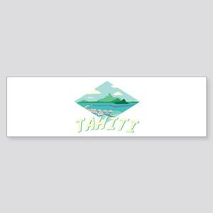 Tahiti Bumper Sticker