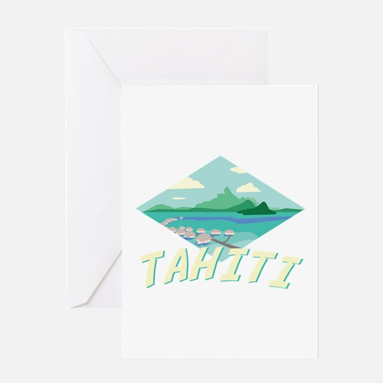Tahiti Greeting Cards