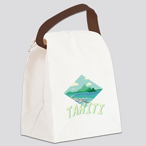 Tahiti Canvas Lunch Bag