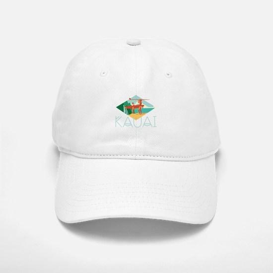 Kauai Surfers Baseball Baseball Baseball Cap