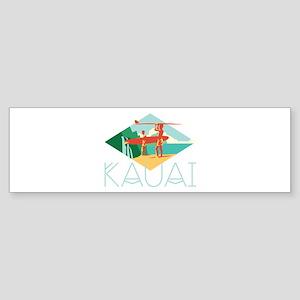 Kauai Surfers Bumper Sticker