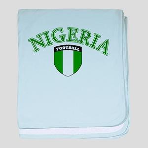 Naija footy baby blanket