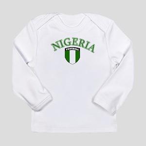 Nigerian sports (football) Long Sleeve T-Shirt