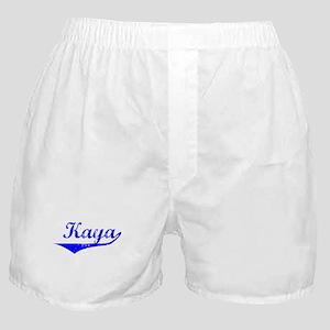 Kaya Vintage (Blue) Boxer Shorts