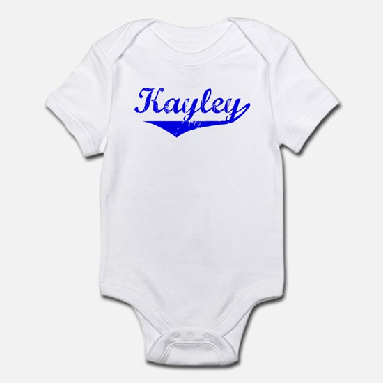 Kayley Vintage (Blue) Infant Bodysuit