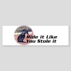 Stodart Racing Bumper Sticker